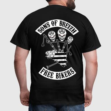 sons of breizh bikers 3 - T-shirt Homme