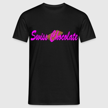 swiss chocolate - Männer T-Shirt