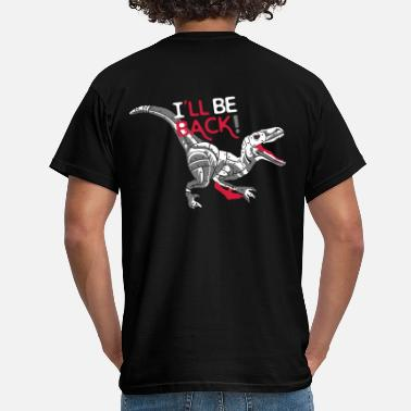 Film I'll be back - Terminator Rex - T-shirt Homme