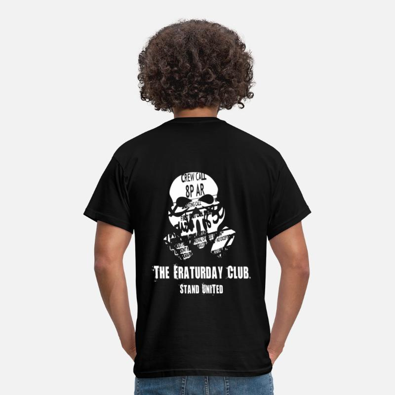 Digital T-Shirts - The Fraturday Club - Men's T-Shirt black