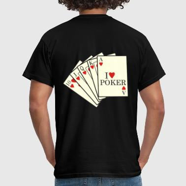 poker cards - T-shirt Homme