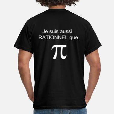 Pi rationnel_pi - T-shirt Homme