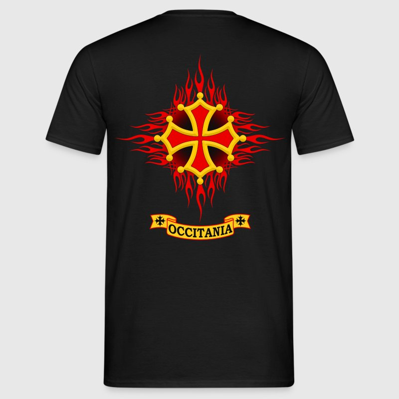 Occitania flaming - T-shirt Homme