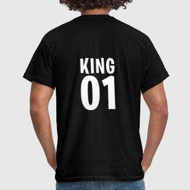 King 01 [King & Queen] - Mannen T-shirt