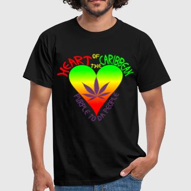 HEART OF THE CARIBBEAN - Männer T-Shirt