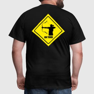 on_tour_horsebow - Männer T-Shirt