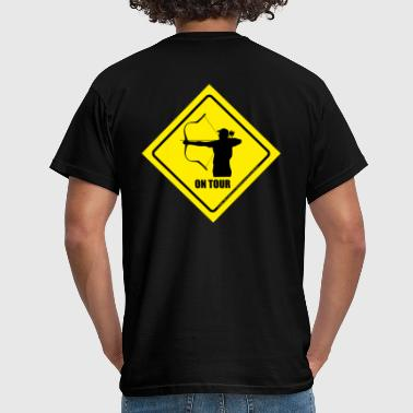 Reiterbogen on_tour_horsebow - Männer T-Shirt