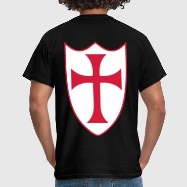 templar cross - Men's T-Shirt