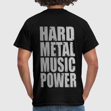hard metal music power 02 - T-shirt Homme