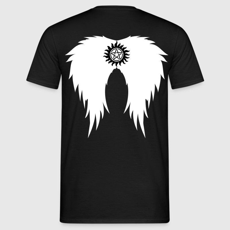 Supernatural wings (vector) T-Shirts - Men's T-Shirt