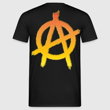 anarchy symbol 3 - T-shirt Homme