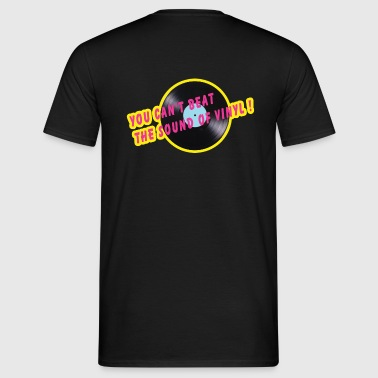 sound of vinyl - T-shirt herr