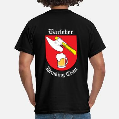 Drinking Team Barleber Drinking Team - Blanco - Camiseta hombre