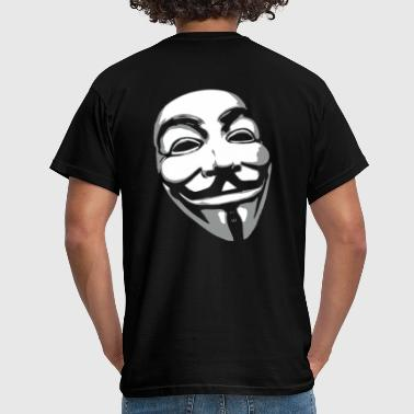 Anonymous Maske - Männer T-Shirt
