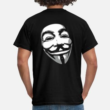 Anonymous Mask Anonymous Mask - Men's T-Shirt