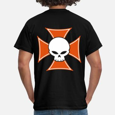 Maltese Cross iron cross - Men's T-Shirt