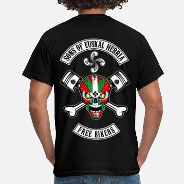 Euskadi Basques Free Bikers - T-shirt Homme