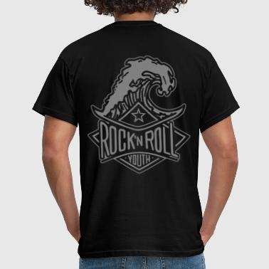 Rock N Roll rock`n roll youth neg - Männer T-Shirt