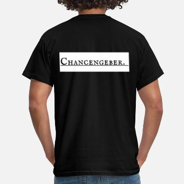 Networking Chancengeber - Männer T-Shirt