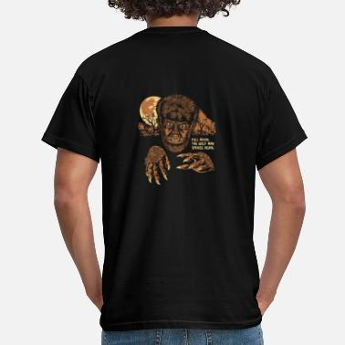 Horror Movies WOLF MAN - Camiseta hombre