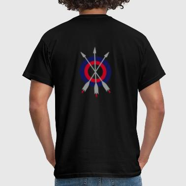 arrow trinity archery by patjila - T-shirt Homme