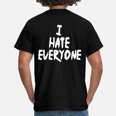 Wutcomics I hate everyone - Männer T-Shirt