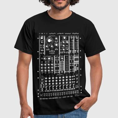 Synthshirt Modular Synth Big - Men's T-Shirt