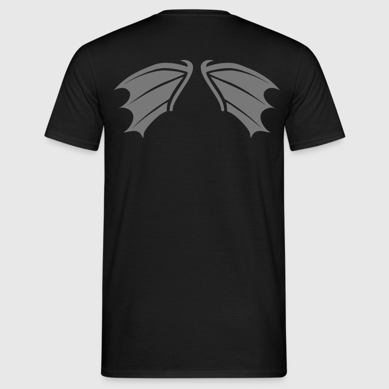 bat wings vampire night helloween - Men's T-Shirt