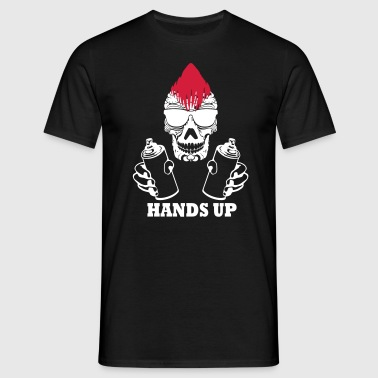 hands up - Männer T-Shirt