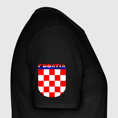 croatia grb S3 color - Männer T-Shirt