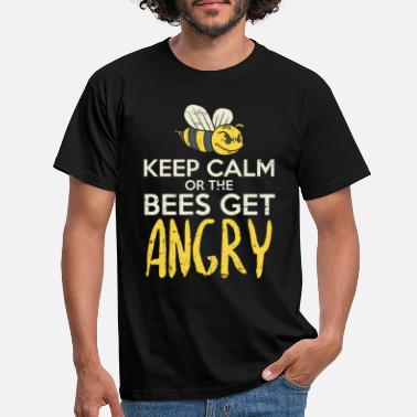 Lapsi Insects Stay calm or bees become aggressive - Men's T-Shirt
