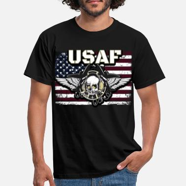 Usa USAF Soldier Air Force - Mannen T-shirt