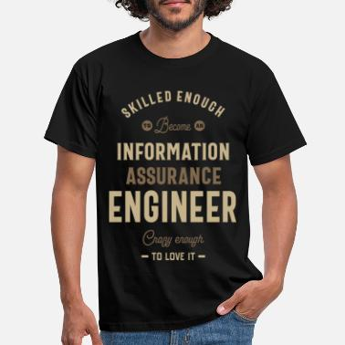 Information Information Assurance Engineer - Men's T-Shirt