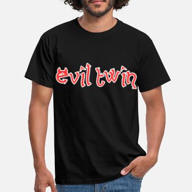 Twin Evil Twin Easy Halloween Costume - Men's T-Shirt