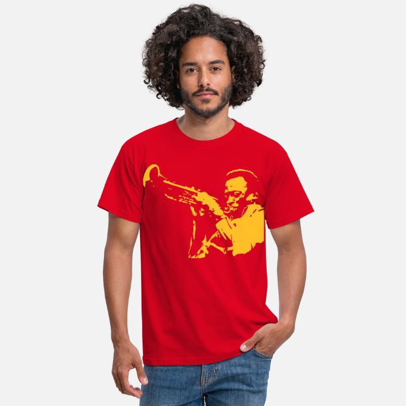 Miles Shirt Homme Davis T Rouge MVqSUpz