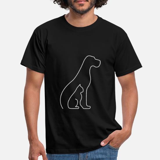 Drôle Enfants T-shirt Tee tshirt-Illusion chien
