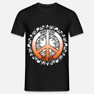 Hippie Tie Dye T skjorte til Herre