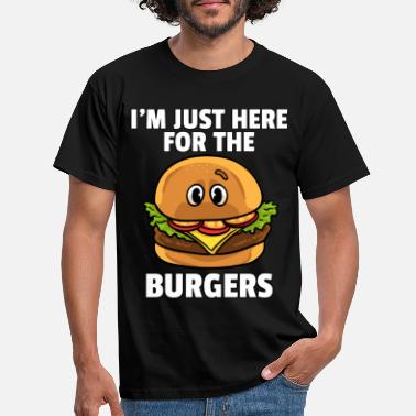 Day Burger Fast Food Cheeseburger Hamburger Geschenk - Männer T-Shirt