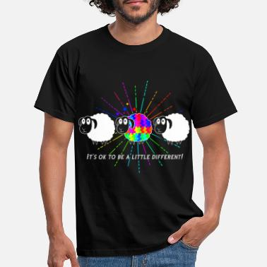 Different its ok to be a little different! - Men's T-Shirt