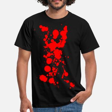 Bloodstain bloodstains - Men's T-Shirt