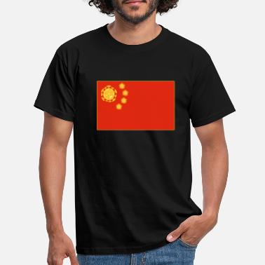 China China virus - Men's T-Shirt