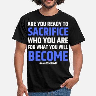 Thomas ARE YOU READY - Men's T-Shirt