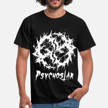 Hard Psychostar death metal - Men's T-Shirt