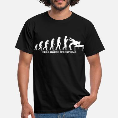 Full House Evolutie van Full House - Mannen T-shirt