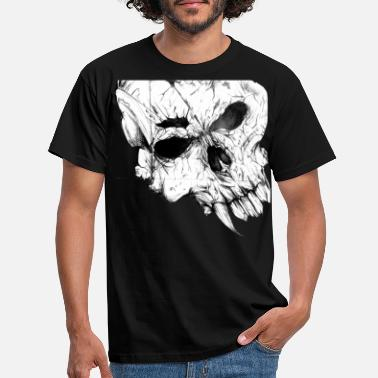New skull - Men's T-Shirt