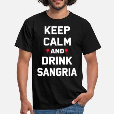 Spain Sangria Wine Spain Wine-based drink alcohol - Men's T-Shirt
