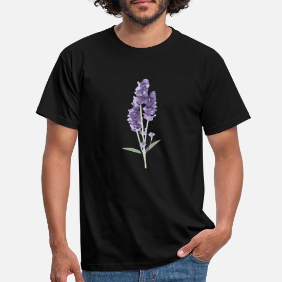 lavendel T skjorte for menn | Spreadshirt