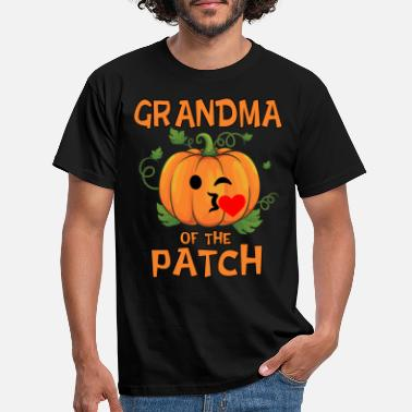 Patch Pumpkin Grandma of the Patch Thanksgiving and - Men's T-Shirt