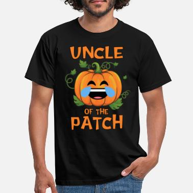 Pumpkin Citrouille oncle du patch Thanksgiving et - T-shirt Homme