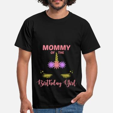 Feast Day Mom's Birthday Girl Kids Party Gift - Men's T-Shirt